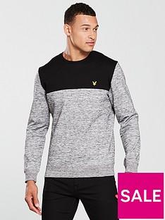 lyle-scott-space-dye-sweatshirt