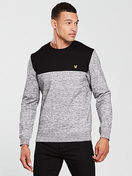 lyle-scott-space-dye-sweatshirt