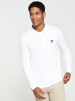 lyle-scott-lyle-amp-scott-ls-plain-polo-shirt