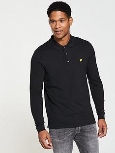 lyle-scott-lyle-amp-scott-ls-plain-polo-shirt