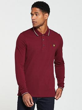 lyle-scott-lyle-amp-scott-ls-tipped-polo-shirt