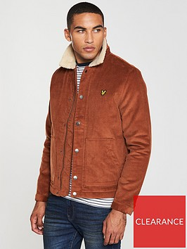 lyle-scott-jumbo-cord-shearling-jacket