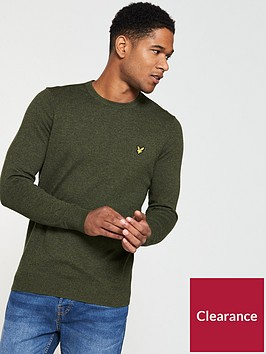 lyle-scott-lyle-amp-scott-crew-neck-cotton-merino-jumper