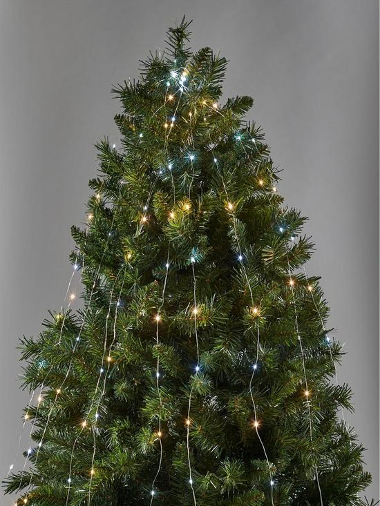 - 200 Cm Wire Branch Christmas Tree Lights €� White/Warm White Very.co.uk