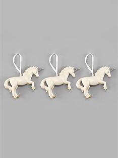set-of-3-unicorn-hanging-christmas-tree-decorations