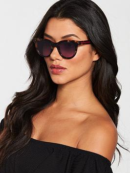 Marc Jacobs Marc Jacobs Pink Lens Tort Cat Eye Sunglasses