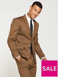 v-by-very-skinny-stretch-jacket-dark-tan