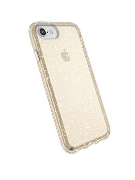 speck-presidio-clear-for-iphone-8-clear-with-gold-glitter