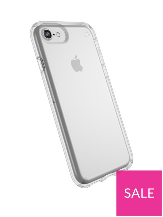 pretty nice ee728 b81c7 Presidio Clear Case for iPhone 8 - Clear
