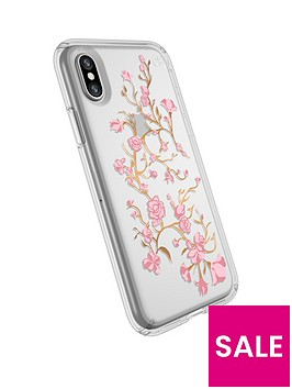 speck-presidio-clear-and-pink-printnbspcase-for-iphone-x-clear