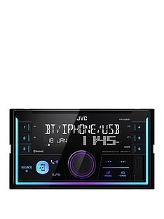 jvc-jvc-kw-x830bt-2-din-in-car-radio-with-bluetooth-and-front-usbaux-input