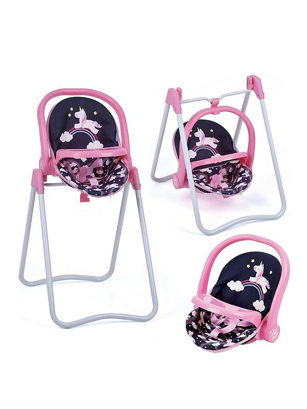 Hauck 3 In 1 Highchair Car Seat And Swing Very Co Uk