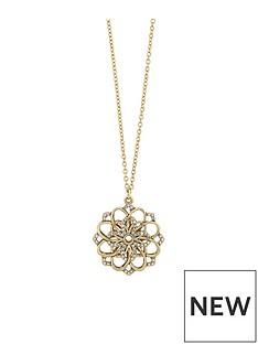 accessorize-cutout-sparkle-flower-long-pendant