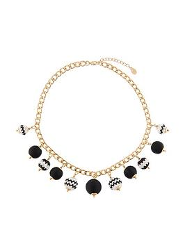 accessorize-monochrome-bobble-collar-necklace