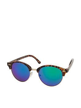 accessorize-rita-revo-half-frame-sunglasses-tortoise-shell