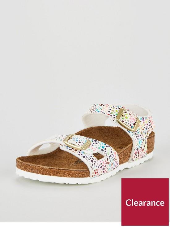26ac0625c1f Birkenstock Girls Rio Sandals - Oriental Mosaic White