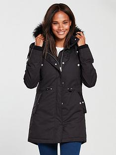 superdry-new-model-microfibre-parka-black