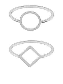 accessorize-2-pack-open-circle-amp-open-square-silver