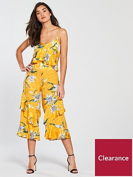river-island-floral-frill-jumpsuit-yellow