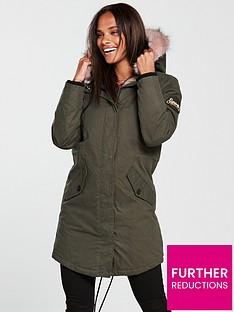 61a15a1e7097e Womens Superdry Coats   Superdry Jackets   Very.co.uk