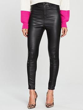 Skinny Super By Very Coated V Waisted Addison Jean High Tall qVzpGjLSUM