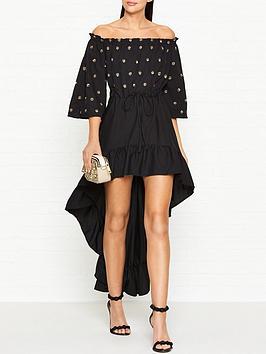 sundress-alena-winter-off-the-shoulder-frill-dress-black