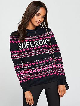 superdry-cleveland-fair-isle-knit-soft-navy
