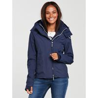 Arctic Hooded Pop Zip Windcheater by Superdry