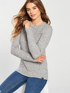 superdry-croyde-cable-knit-grey-marl