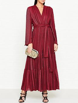 sundress-nataly-long-sleeve-glitter-dress-red
