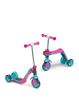 Smoby Reversible 2-In-1 Scooter &Ndash; Pink