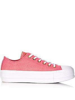 converse-chuck-taylor-all-star-platformnbspox-trainers-pink