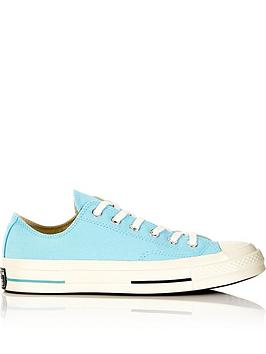 converse-chuck-taylor-all-star-70-ox-low-top-trainers-light-blue