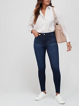 v-by-very-florence-high-rise-skinny-jean-ink