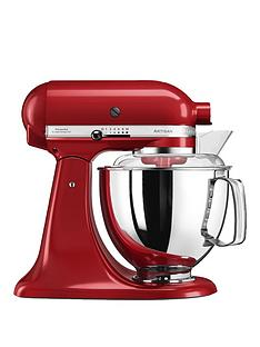 KitchenAid Artisan 4.8-Litre Tilt Head Stand Mixer - Red