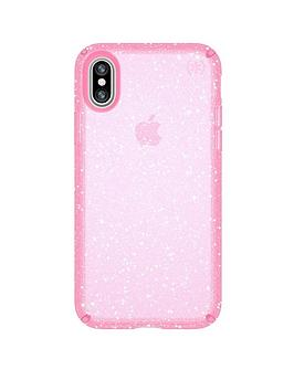 speck-presidio-bella-case-fornbspiphone-x--nbsppink-with-gold-glitter