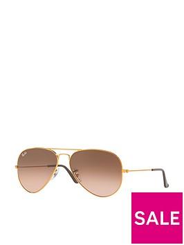 ray-ban-gradient-lensnbspaviator-sunglasses-copper
