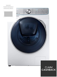 Samsung WW10M86DQOA/EU 10kg Load, 1600 Spin, QuickDrive™ Washing Machine with AddWash™ - White