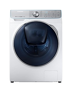 Samsung WW10M86DQOA/EU 10kg Load, 1600 Spin, QuickDrive™ Washing Machine with AddWash™ and 5 Year Samsung Parts and Labour Warranty - White