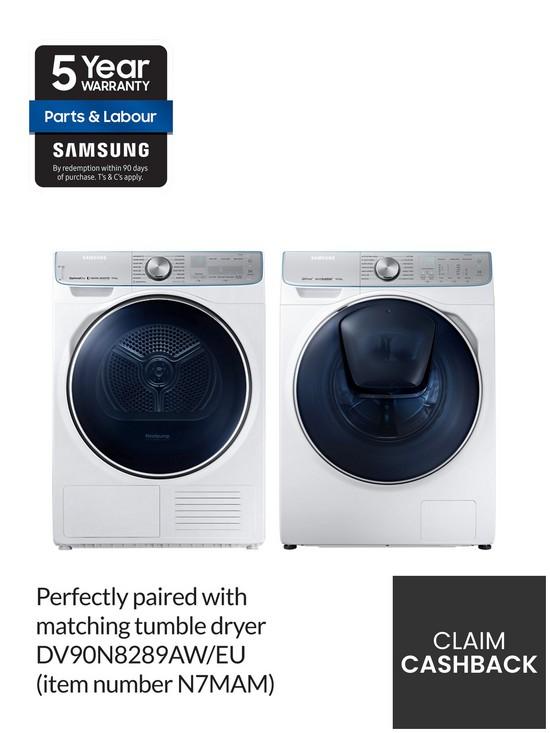 WW10M86DQOA/EU 10kg Load, 1600 Spin, QuickDrive™ Washing Machine with  AddWash™ - White