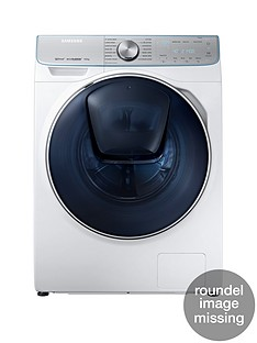 Samsung WW90M741NOR/EU 9kgLoad, 1400Spin QuickDrive™Washing Machine with AddWash™ - White, 5 Year Samsung Parts and Labour Warranty