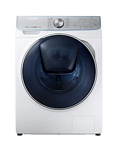 Samsung WW90M741NOR/EU 9kg Load, 1400 Spin QuickDrive™ Washing Machine with AddWash™ - White5 Year Samsung Parts and Labour Warranty