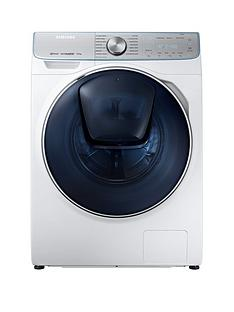 Samsung WW90M741NOR/EU 9kg Load, 1400 Spin QuickDrive™ Washing Machine with AddWash™ and 5 Year Samsung Parts and Labour Warranty - White
