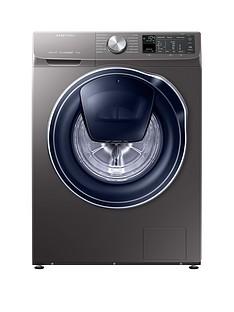 Samsung WW90M645OPO/EU 9kg Load, 1400Spin QuickDrive™ Washing Machine with AddWash™ - Grey/Graphite, 5 Year Samsung Parts and Labour Warranty