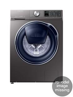 Samsung WW90M645OPO/EU 9kg Load, 1400Spin QuickDrive™ Washing Machine with AddWash™-Grey/Graphite