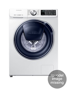 Samsung WW80M645OPM/EU 8kg Load, 1400 Spin QuickDrive™ Washing Machine with AddWash™ - White5 Year Samsung Parts and Labour Warranty