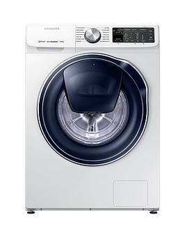Samsung Ww80M645Opm/Eu 8Kg Load, 1400 Spin Quickdrive&Trade; Washing Machine With Addwash&Trade; And 5 Year Samsung Parts And Labour Warranty - White