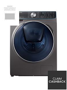Samsung WW10M86DQOO/EU 10kg Load, 1600 Spin QuickDrive™ Washing Machine with AddWash™ -  Graphite
