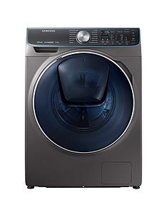 Samsung WW10M86DQOO/EU 10kg Load, 1600 Spin QuickDrive™ Washing Machine with AddWash™ and 5 Year Samsung Parts and Labour Warranty -  Graphite