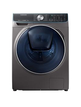 Samsung Ww10M86Dqoo/Eu 10Kg Load, 1600 Spin Quickdrive&Trade; Washing Machine With Addwash&Trade; - Graphite